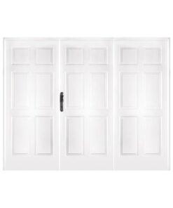Portón 3710 Blanca 3 Hojas